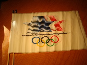 Official Flags 1984 Los Angeles Olympic Games