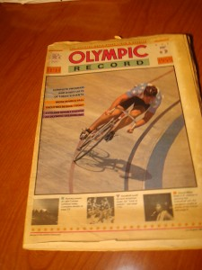 Official Olympic Record for Day 6, August 3, 1984 Los Angeles Olympic Games featuring Women's Gymnastics