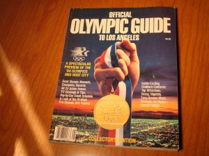 Official Olympic Guide for the 1984 Los Angeles Olympic Games