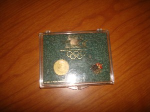 Official Pin and Coin Set of the 1984 Los Angeles Olympic Games