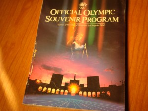 Official Program 1984 Los Angeles Olympic Games