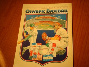 Official Program 1984 Los Angeles Olympics Baseball Competition