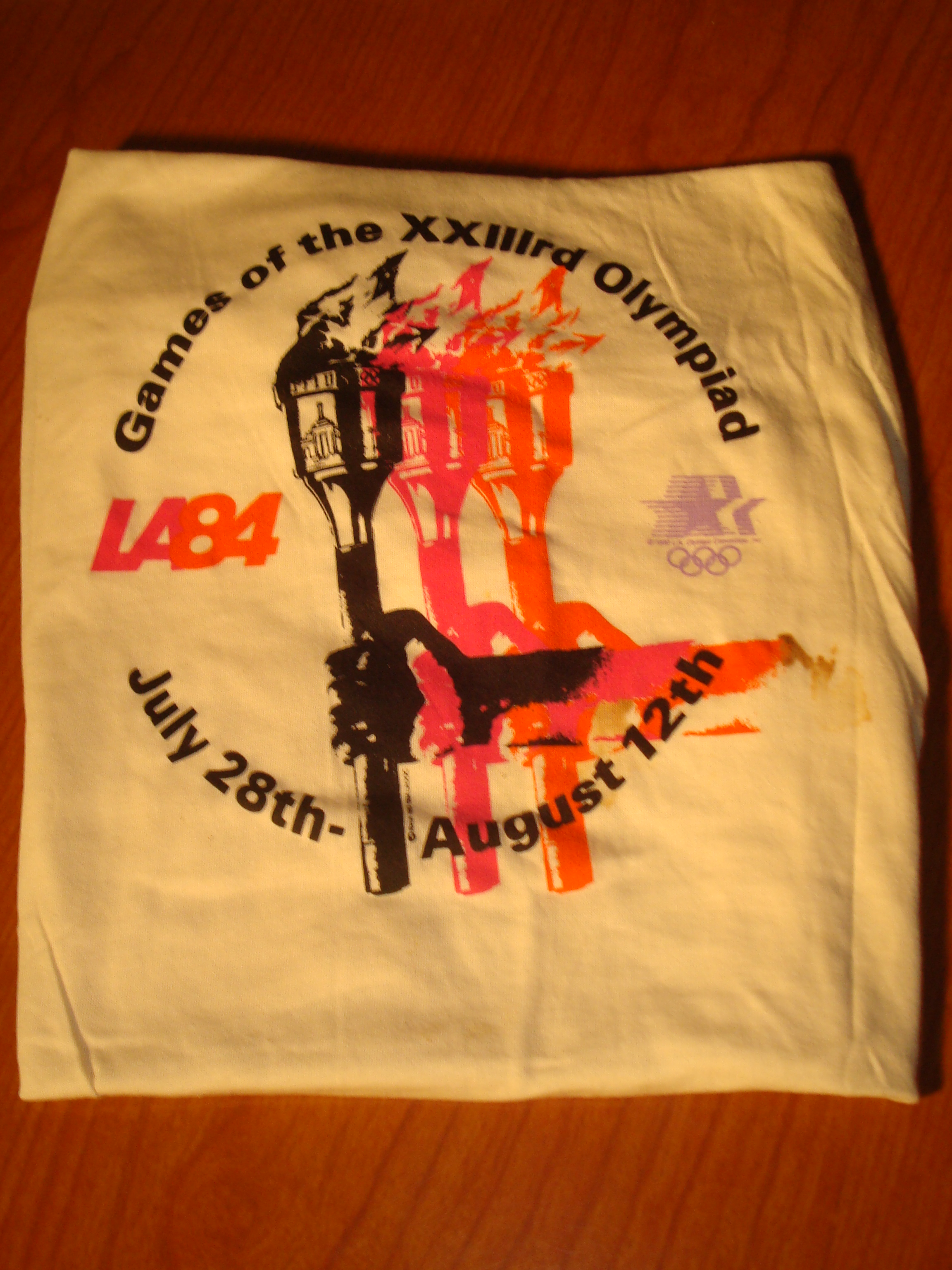 Photo of Bone Daddy's 1984 Los Angeles Olympics Games Official Olympic Sport T-shirt Collection