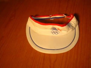 Official Visor for 1984 Los Angeles Olympic Games