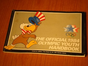 Official Youth Olympic Guide for 1984 Los Angeles Olympics