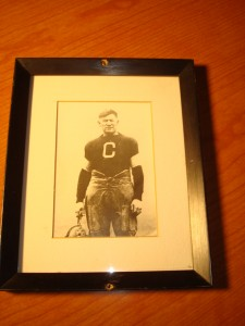 Original 1917 Picture of NFL Hall of Fame and College Hall of Fame RB Jim Thorpe of the Canton Bulldogs, Canton, OH