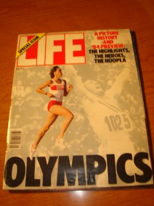 Original July 1984 Special Issue of Life Magazine's Picture History and '84 Preview of the XXIII Olympic Games of Los Angeles featuring Women's 3000m runner Mary Decker