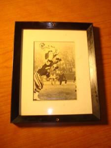 Original Picture 1969 NFL NFC Champion Minnesota Vikings WR Gene Washington being tackled by Washington Redskins DT Bill Brundige