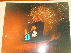 Original Picture 1984 Los Angeles Olympics Closing Ceremonies from LA Memorial Coliseum