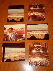 Original Pictures 1984 Los Angeles Olympic Games of Equestrian Competition in Santa Anita Park and Boxing at Los Angeles Memorial Sports Arena