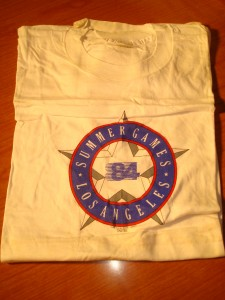 Official '84 Los Angeles Summer Games T-shirt