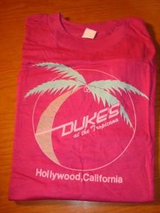 Dukes at the Tropicana in Hollywood, CA T-shirt