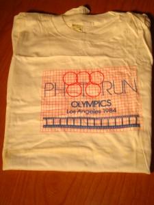 Original Photorun Corporation 1984 L A Olympics T-shirt