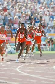 Photo of 1984 L A Olympics Day 8 Men's 4 x 100m Medley Relay Heat 3