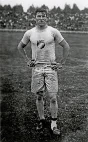 Photo of 1912 Stockholm Olympic Games With Mens Pentathlon & Decathlon Winner Jim Thorpe