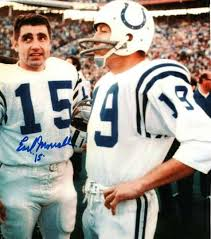 Photo of NFL Men Who Played The Game Featuring QB Earl Morrall
