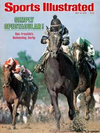 Photo of 105th Running Of The 1979 Kentucky Derby With Winner Spectacular Bid