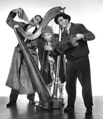 Photo of Chico & Harpo Marx Bring Comedy To Playing A Duet On The Piano