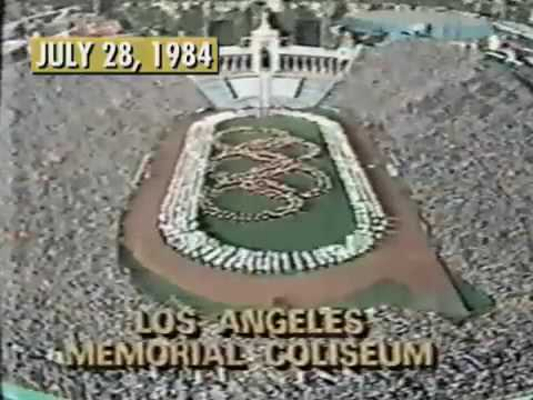 Photo of Bone Daddy's 1984 Los Angeles Summer Olympics Record Daily Start Times And Events Collection Pieces