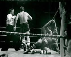 Photo of 1979 Heavyweight Champion Elimination Bout With Gerrie Coetzee VS Leon Spinks