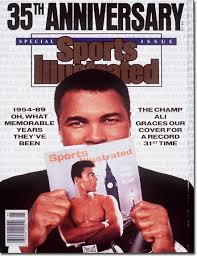 Photo of 1979 Sports Illustrated Athlete Of The Year 1st 25 Years- Muhammad Ali