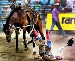 Photo of 1983 World Championship Mesquite Rodeo – Bare Back Riding & Saddle Bronc Riding