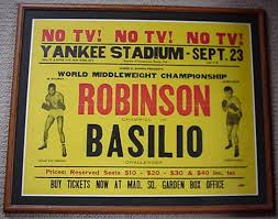 Photo of Boxing's Great Grudge Fights Middleweights Sugar Ray Robinson VS Carmen Basilio