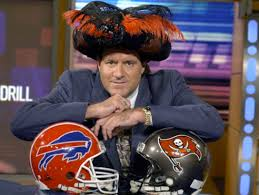 Photo of ESPN Sportscenter With Chris Berman Reporting On The NFL Before Becoming The Swami