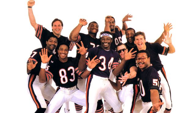 Photo of NFL Films 1984 World Champion Chicago Bears In Fight To The Finish imasportsphile
