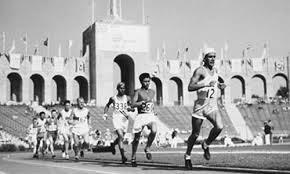 Photo of Olympics – 1932 Los Angeles – Track – Mens 5000m – FIN Lauri Lehtinen & USA Ralph Hill