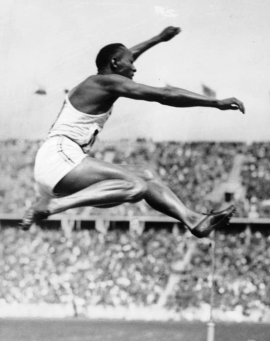 Photo of Olympics – 1984 Los Angeles – Profile Of Jesse Owens – 1936 Berlin Olympics