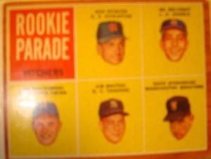 MLB - Orginal Baseball Card 1962 Rookie Parade featuring NY Yankees P Jim Bouton