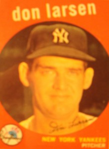 MLB - Original Baseball Card 1959 Topps New York Yankees P Don Larsen