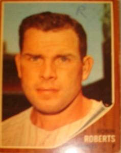 MLB - Original Baseball Card 1962 NY Yankees Rookie P Richard Roberts