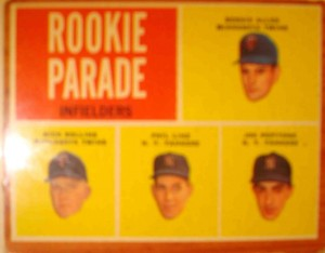MLB - Original Baseball Card 1962 Rookie Parade featuring NY Yankees OF Hector Lopez