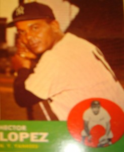 MLB - Original Baseball Card 1963 NY Yankees OF Hector Lopez