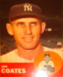 MLB - Original Baseball Card 1963 NY Yankees P Jim Coates