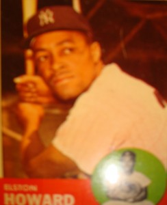 MLB - Original Baseball Card 1963 New York Yankees C Elston Howard