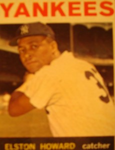 MLB - Original Baseball Card 1964 New York Yankees C Elston Howard