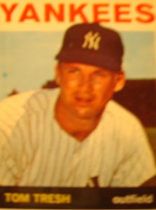 MLB - Original Baseball Card 1964 New York Yankees OF Tom Tresh