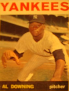 MLB - Original Baseball Card 1964 New York Yankees P Al Downing