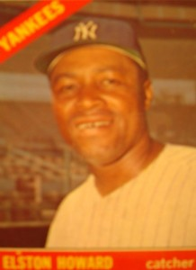 MLB - Original Baseball Card 1966 New York Yankees C Elston Howard