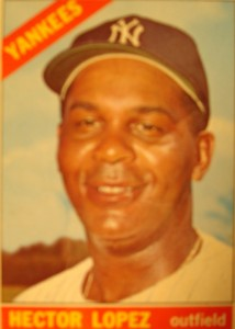 MLB - Original Baseball Card 1966 New York Yankees OF Hector Lopez