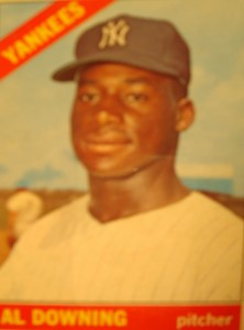 MLB - Original Baseball Card 1966 New York Yankees P Al Downing