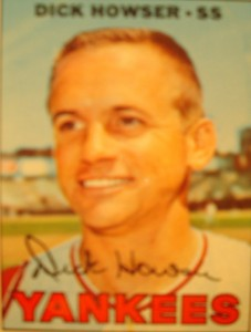 MLB - Original Baseball Card 1967 New York Yankees SS Dick Howser