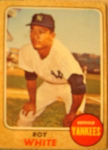 MLB - Original Baseball Card 1968 New York Yankees OF Roy White