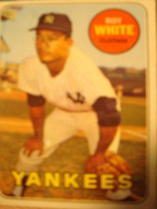 MLB - Original Baseball Card 1969 New York Yankees OF Roy White