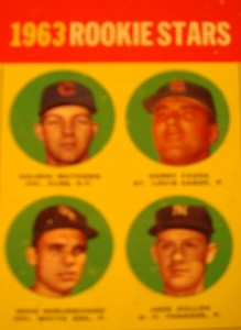 MLB - Original Baseball Cards 1963 MLB Rookie Stars featuring New York Yankees C john Blanchard