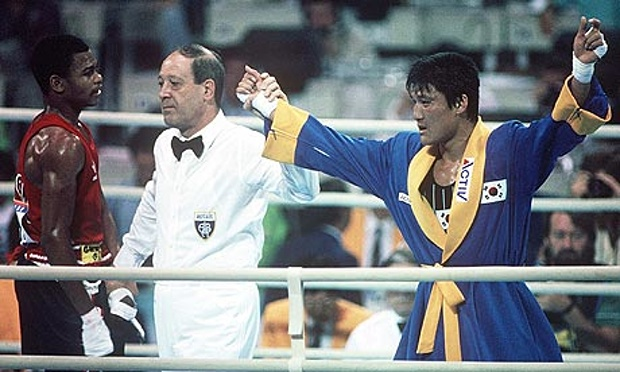 Photo of Olympics – 1988 Seoul – Highlights of Boxing Controversy & Interview With US Ambassador James Lilley