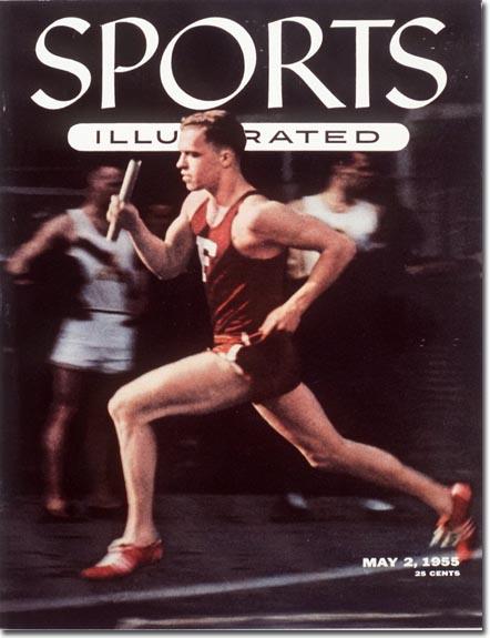 Photo of Olympics – 1956 Melbourne – Track – Mens 800m – USA Tom Courtney & GB Derek Johnson